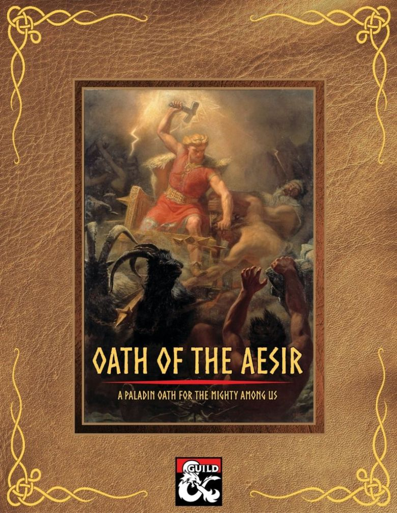 Oath of the Aesir - a paladin oath for the mighty among us